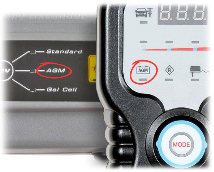AutoMeter and Bosch battery chargers